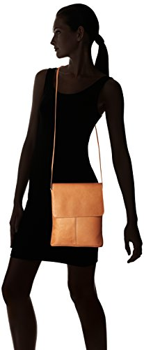One Over Colombian Size Cross Crossbody Leather Bag Flap Body Leather Tan Tan Royce qZIwv16I