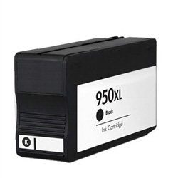 Ink Now Premium Remanufactured Black Cartridge for HP OfficeJet Pro 8100 - 8600 Series (With New Chip) Printers - OEM part number CN045AN - CN049AN - 950XL Black