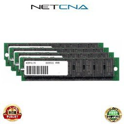MEM-4000-16D 16MB (4x4MB) Cisco Systems 4000 Routers Series Approved SIMM Memory Kit 100% Compatible memory by NETCNA USA