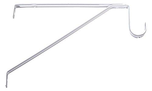 Knape & Vogt 1194 CREAM Closet Rod Adjustable Support