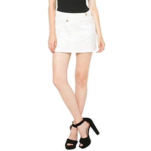 Desigual Womens' Skirt White, Sizes XS-XL