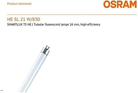 10 x Leuchtstofflampe Osram Lumilux HE21W//830 T5 HE 21W//830