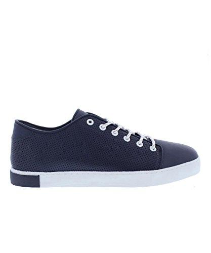 Hub Parsons - Sneakers de hombre, color Marine/Wht (Azul Marino / Blanco), talla 42