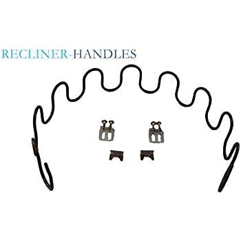 Recliner Handles Replacement Sofa Recliner Furniture Seat Spring Repair Kit  24 Inch For Klaussner And