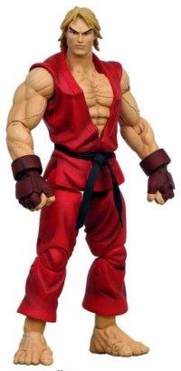 Street Fighter Round 2 Ken Action Figure (Red Version)