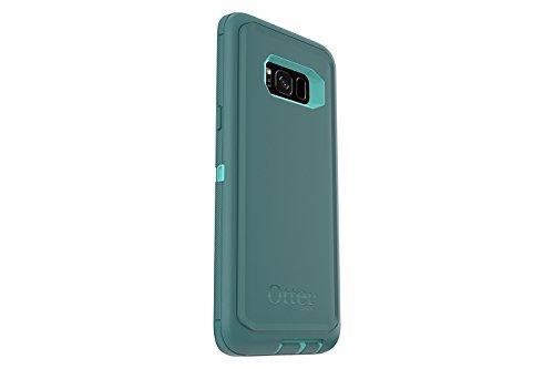 OtterBox DEFENDER SERIES for Samsung Galaxy S8+ (SCREEN PROTECTOR NOT INCLUDED)  - AQUA MINT WAY (AQUA MINT/MOUNTAIN RANGE GREEN)