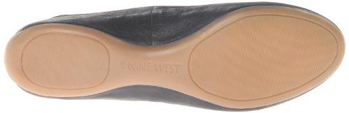 Nine West Womens Daylilly Läder Balett Mattsvart