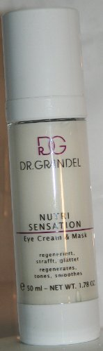 (Dr. Grandel Nutri Sensation Eye Cream & Mask 50 Ml Pro Size - Regenerates, Tones, Smoothes Regenerating Eye Cream with Red Algae Extract for Intense Hydration)