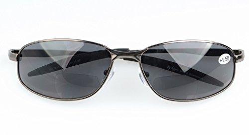 gris 1 Clásico de Bifocales 75 003 sol Eyekepper Gafas Lente gris Bronze 6w4qAYY
