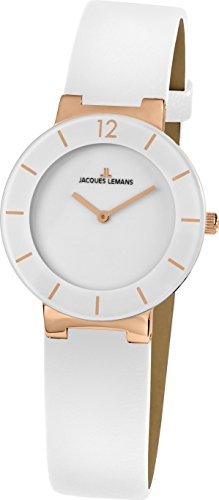 Jacques Lemans MESSEAKTION 2016 41-5D Wristwatch for women With Ceramic Elements