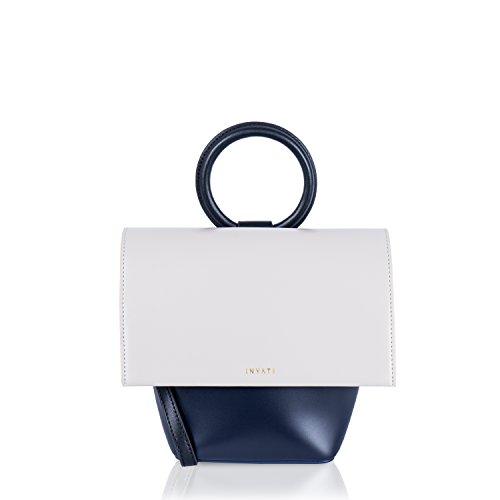 Inyati - Shoulder Bag For Female Multicolor Synthetic Cognac / Maroon Cream / Midnight Blue