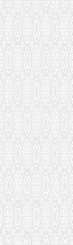 Celtic Decor 3D Decorative Film Privacy Window Film No Glue,Frosted Film Decorative,Tribal Celtic Knots Eternity Forms Pattern Boho Decor Ireland Irish Cross Floral Artprint,for Home&Office,23.6x59Inc - Cross Suncatcher Celtic