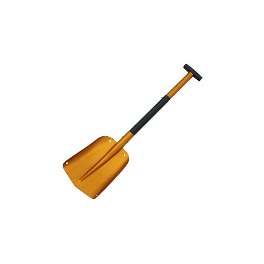 3 parts Portable Aluminium Snow Shovel Car Collapsible Home Utility Light Strong Mud Sand Scoop
