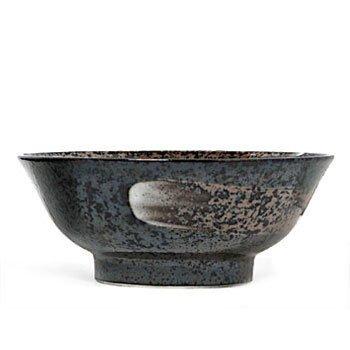 New 8.25 Inches Bowl Metallic Black With Swirls