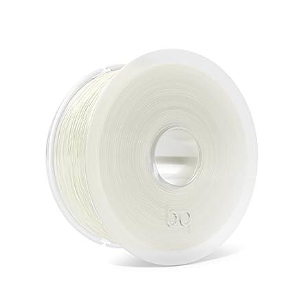 Filamento de 1.75 mm color amarillo fluorescente 100 /% PLA, resistente a la acetona, r/ápido endurecimiento BQ Easy Go