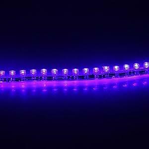 Leedfsw 0.24M 1.5W 24-LED 105LM Blue Light LED Strip Light (DC 12V)