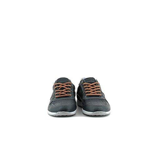 BULLBOXER 132-K2-6343A Zapatos De Cordones Hombre Azul, EU 44
