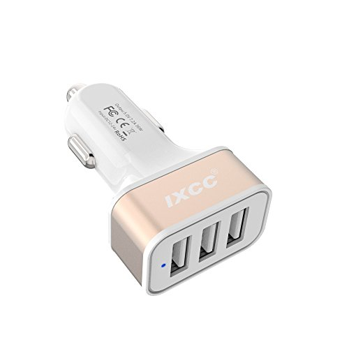 iXCC 3 Port Charger Charging Adapter product image