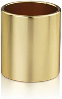 GR5AS Büroschulmaterial Aluminium Stifthalter Persönlichkeit Mode Tischhalter kreatives Geschenk (Color : Gray)