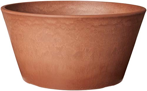 Arcadia Garden Products PSW TD25TC Sleek Bulb Pan, 10 by 5-Inch, Terra Cotta