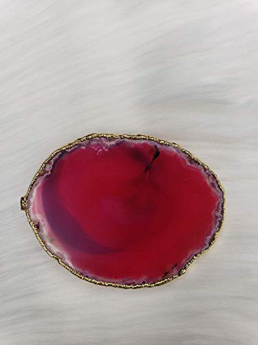 Electroplated Agate Crystal Phone Grip CAP