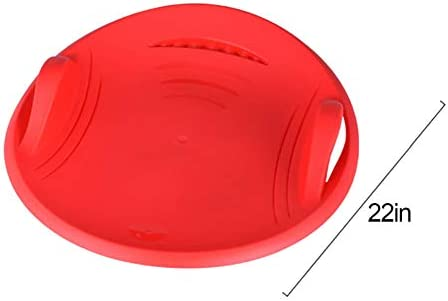 W-ShiG Downhill Saucer Disc Snow Sled for Kids, Outdoor Winter Sports Toy