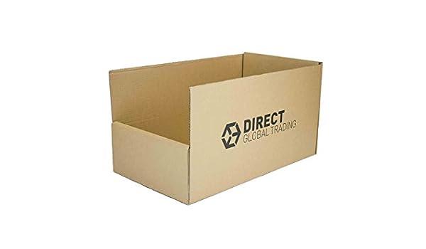Doble pared cartón Extra fuerte almacén Pick cubos estantería de cajas de almacenamiento (Pack de 10): Amazon.es: Industria, empresas y ciencia