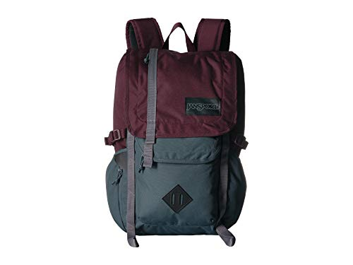 JanSport Hatchet Backpack - Dried Fig/Grey Horizon