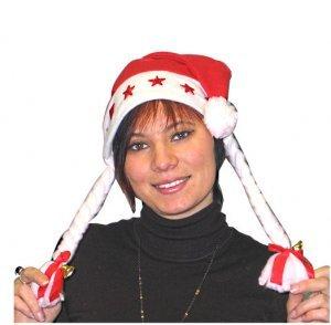 Zöpfen u Beleuchtet 1 Mit mütze Glöckchen T Und Schleifen nbsp;weihnachtsfrau wq1IqgHU