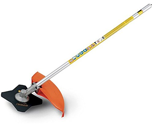 Stihl FS-KM Brushcutter with 4 Tooth Grass Blade & Line Head Trimmer