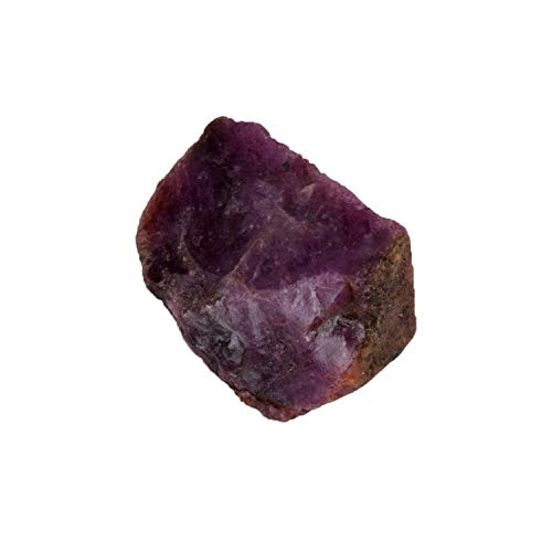 July Birthstone ! Natural Red Star Ruby Uncut Untreated Rough Approximate 157.50 Ct Gemstone with Egl Certified - Natural Ruby Untreated