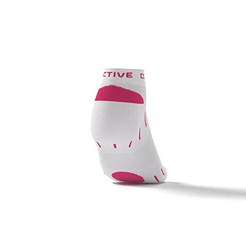 per Bianco Laufsocken Sneakers Ausdauersportler Rosa Active Triathleten Mehr Corridoio e numerosi zqZwExB
