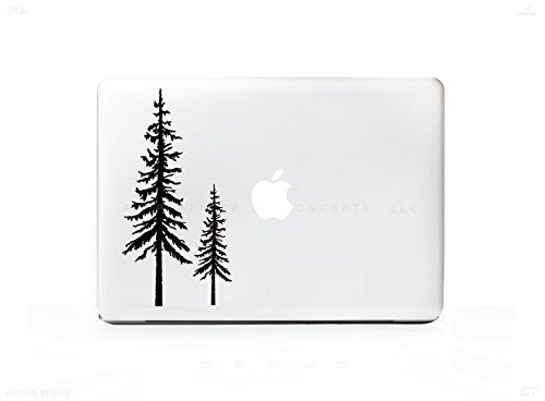 Price comparison product image 2 Trees Redwood Forest Sticker Decal For MacBook Pro,  PC,  Laptop,  Window,  Car,  or Wall