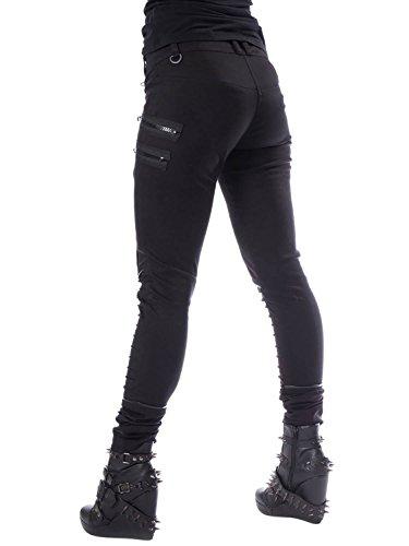 Pantalón Chemical Para Negro Mujer Black CqO10x5q