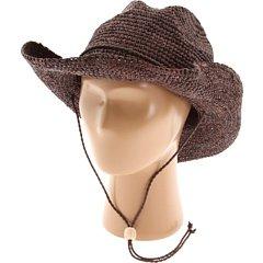 San Diego Hat Women's Raffia Cowboy Hat Brown One -