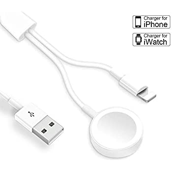 Amazon.com: Blandstrs Charger for Apple Watch, Magnetic ...