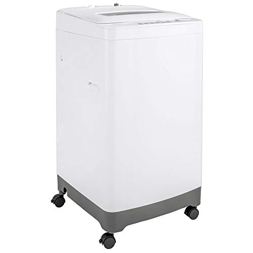 Haier - 2.1 Cu. Ft. 8-cycle Top-loading Washer - White