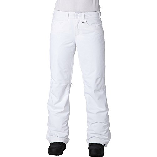 Roxy SNOW Juniors Backyards Snow Pant, Bright White, Medium by Roxy