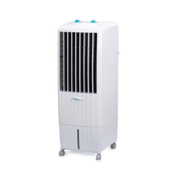Symphony Diet 12T Personal Tower Air Cooler 12-litres, Multistage Air Purification, Honeycomb Cooling Pad, Powerful Air… 2021 August Capacity: 12 liters; Coverage Area: Ideal for room size up to 12 square meters Warranty: 1 year on manufacturing defects. For any product-related queries after its delivery, please call us or WhatsApp 'Hi' on: +91 – 9510976161. Note: Warranty is applicable from the date of invoice Cooling Media: Highly-effective honeycomb cooling pads, powerful blower and cool flow dispenser ensures superior cooling