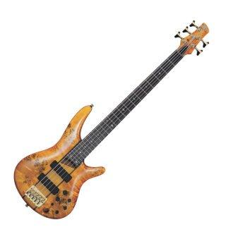 Ibanez SR805 5-String Electric Bass Guitar Natural
