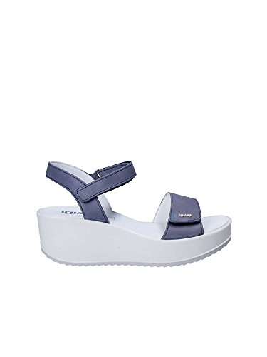Igi&Co 1176 Sandales Compensées Femmes Bleu 36 ezqbC