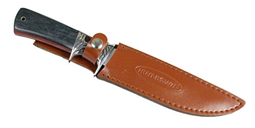 12-Hunt-Down-BlackBrown-Sporting-Knife-With-Leather-Sheath