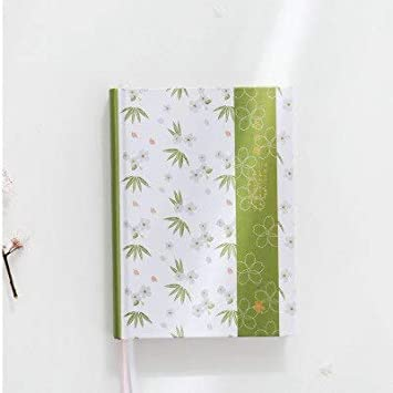 ShAwng Kawaii Linda Flor Japonesa Dotted Notebook Office ...