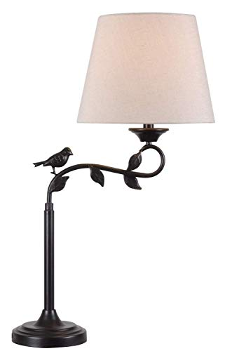 Kenroy Home 32612ORB Birdsong Swing Arm Table Lamp, 7.48
