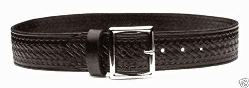 Leather Garrison Security Uniform Belt Black Bw
