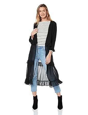 Three of Something Women's Fitzgerald Jacket, Black, S
