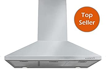 Eureka 48 Stainless Steel Wall Mount Range Hood