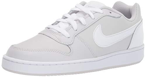 Nike Men's Ebernon Low Basketball Shoe, vast Grey/White, 12 Regular US (Fashion Basketball)
