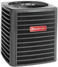 (Goodman GSX160601 Single-Phase 16 Seer R-410A Condensing Unit, 5 Tons, 54,000 Btu, 208 / 230 Volts, 29.6 Amps)