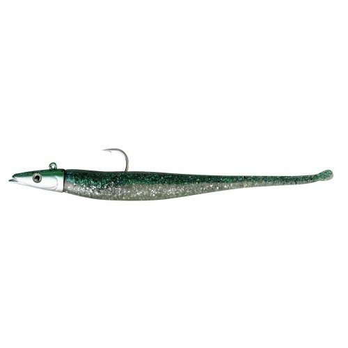 Savage Gear Darting Sand Eel Sinking Fishing Lure, 8-Inch/1-Ounce, Green (Sand Eel Green)